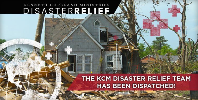 The KCM Disaster Relief team has been dispatched!