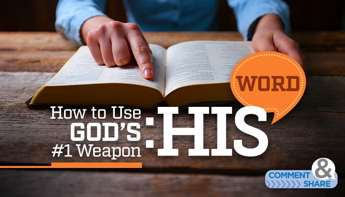 How to Use God's No. 1 Weapon: His Word by Kenneth Copeland