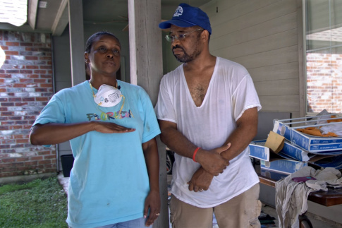 Louisiana Flooding Update: KCM Disaster Relief Team Helps Valerie and Dwayne