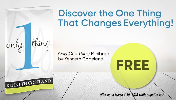 Only One Thing Minbook by Kenneth Copeland