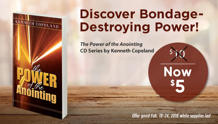 The Power of the Anointing CD Series Special Offer