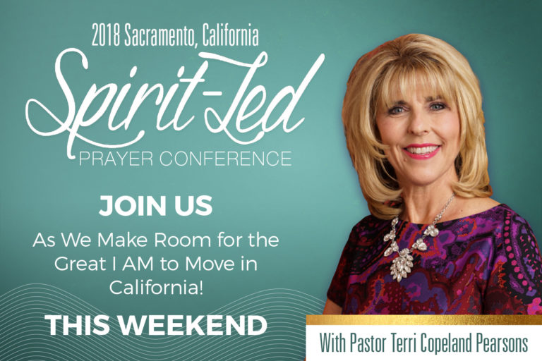 We're Making Room for the Great I AM to Move in California!