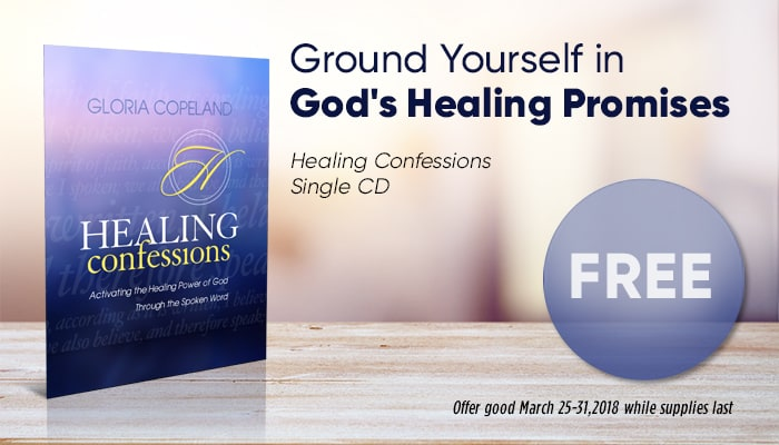 Healing Confessions Single CD FREE Gift